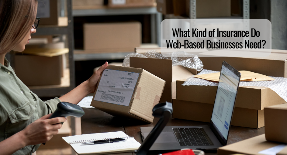 woman with e-commerce business preparing a package to ship